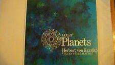 Holst The Planets Herbert von Karagan Vienna Philharmonic London Records CS6244