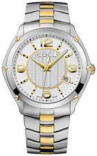 EBEL CLASSIC SPORT 18K GOLD & STAINLESS STEEL MENS WATCH NWT! $3,300 RETAIL!