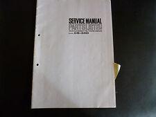 ORIGINALI service manual AKAI cs-34d