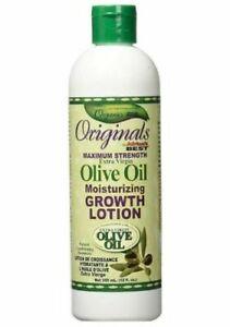 Africa's Best Organics Olive Oil Moisturizing Growth Lotion 12oz