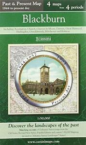 Blackburn (Cassini Publish.Ltd.Past & Present(Sht.map,2007)NEW,End Of Stock!