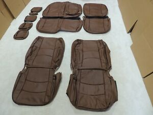 Leather Seat Covers Interior Fits Ram Crew Sport 2013-2017 1500/2500/3500 S14