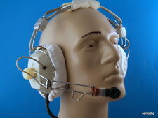 SOVIET MILITARY HEADPHONES  JA- 96  ЯА-96  NEW FOR AIRCRAFT  ARMORED VEHICLES