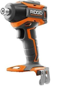 NEW RIDGID R86038 18 VOLT COMPACT CORDLESS BRUSHLESS 3 SPEED IMPACT DRIVER