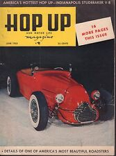 Hop Up Magazine June 1953 Beautiful Roadsters 080417nonjhe