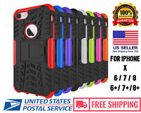 iPhone 6/ 7 / 7 Plus / 8 / 8 Plus Case Cover Protective Hybrid Rugged Shockproof