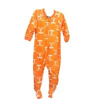 Tennessee Volunteers Official NCAA Baby Infant Size Pajama Sleeper Bodysuit New