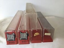 JOUEF 4 BOITES EN PLASTIQUE VOITURES VOYAGEURS + 1 COUVERCLE HO