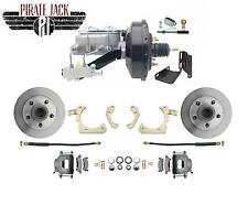 "1955-1958 Bel Air, Impala Power Disc Brake Conversion Kit 9"" Black Power Booster"