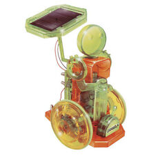 NEW Greenex Ecological Solar Powered Robotwith Dynamo Science Construction Kit