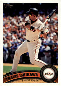 A6549- 2011 Topps Baseball Assorted Cards +Inserts -You Pick- 10+ FREE US SHIP