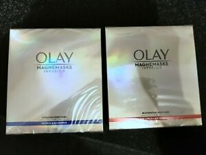 Olay Magnemasks Infusion Hydrating & Rejuvenating Sheet Mask 10 Sheets