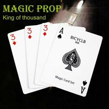 Bicycle Playing Cards Deck Magic Tricks Poker Size Sealed 4 Magic Crads Props