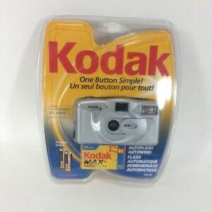 Vintage Kodak KB28 Point And Shoot Camera 35mm Aspheric Lens Black or Silver