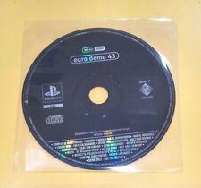 Euro Demo 43 Playstation DEMO PS1 VERSIONE ITALIANA