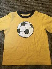 Gymboree Soccer Camp Boys Short Sleeve Shirt Size 5 Nwot