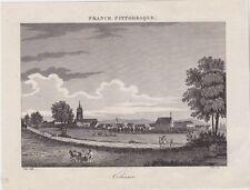 GRAVURE DE 1835  --  COLMAR  HAUT RHIN    3J378