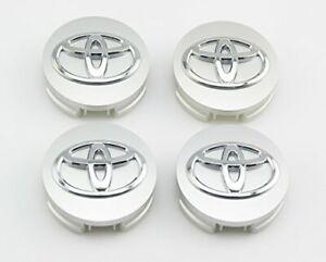 "4 pcs, Toyota Wheel Center Cap Silver, 62 MM / 2.44"", Camry Avalon"