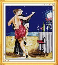Enjoy Life Tango Counted Cross Stitch Kit 14ct aida 33x36cm H Free P&P