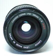 Canon FD 1:2 28mm S.S.C. Objektiv    An-Verkauf  ff-shop24