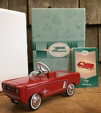 Vintage Hallmark Kiddie Car Classics 1964-1/2 Ford Mustang Red Gift Holiday