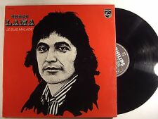 serge lama lp je suis malade   philps 9101 019 french import  vg+/vg+