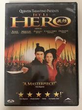 Hero (Dvd, 2004, Canadian Release) Jet Li