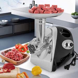 Electric Meat Grinder Sausage Maker Stuffer Mincer Food Grinding Mincing Machine