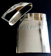 Superb Quality Slim Polished Stainless Steel Jack Daniels Pocket Cigarette Case
