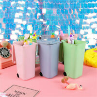 Mini Trash Can Storage Bin Desktop Garbage Organizer Pen Pencil Holder shan