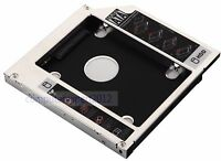 2nd Hard Drive HDD SSD Caddy Adapter for Fujitsu lifebook S710 S7220 S751 T5010