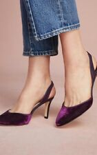 Anthropologie Victoria Slingback Pumps Sz 11/ 41 $188