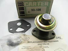 Carter 33-139 EGR Valve  EGV129