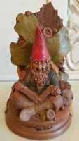 Rare - Edition# 1 - ABLE - Tom Clark Gnome - Book end - signed by Tom
