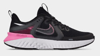 Nike Womens Legend React 2 Running Shoes Black Psychic Pink AT1369-004 Size 9.5
