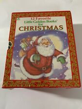 Box Set 12 Favorite Little Golden Christmas Books K. Wilburn 1985*RARE/VHTF/NEW!