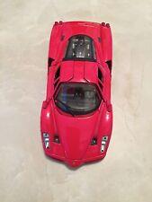Ferrari Enzo, Race Play Collectible, Diecast Model Car 1:24 Scale, Burago, Red