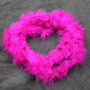 2 Meters Colorful Marabou Feather Fluffy Feather Fancy Dress Party Props B13us
