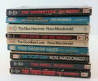 Ross Macdonald Crime Novels Lot of 9 Lew Archer Private Investigator Detective
