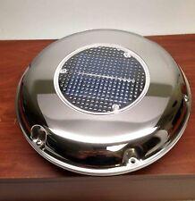 MARINE BOAT RV SOLAR POWERED VENTILATOR RECHARGEABLE EXH & INT COMBO