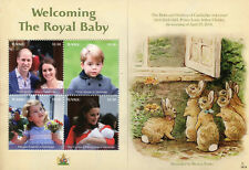 Tuvalu 2018 MNH Prince Louis Royal Baby William & Kate 4v M/S Royalty Stamps