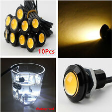 10PC Eagle Eye COB LED Car Auto Daytime Running DRL Tail/Head Light Backup Amber