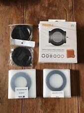 NiSi V5 Kit - 100mm System Filter Holder Kit + CPL Filter + Adapters + Lenscaps
