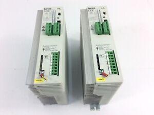 Set 2x LENZE Frequenzumrichter  EVF8211 E  00402833  Out 3 AC 400V  2 4A  0 75kW