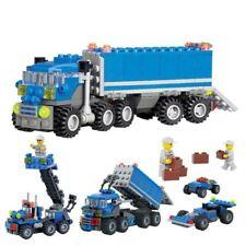 163 un. Plástico Bloques de Construcción Niños Infantil Juguetes educativos para niños Volquete T