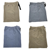 New Croft And Barrow Mens Belted Stretch Shorts Size 30, 32, 34, 36, 42