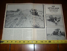 1967 JEEP FORD BRONCO TOYOTA LAND CRUISER LAND ROVER SCOUT - ORIGINAL ARTICLE
