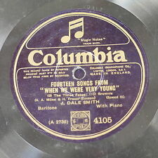 78rpm J DALE SMITH fourteen songs from when we were very young , 7-10 only