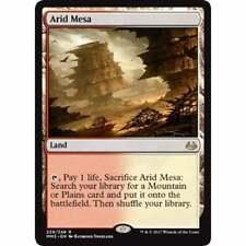 Land Zendikar Mtg Magic Rare 1x x1 1 FOIL Arid Mesa