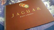 Jaguar Mark 2  Mk2 Sales Brochure Reprint (2.4/3.4/3.8) 12 pgs - wire bound